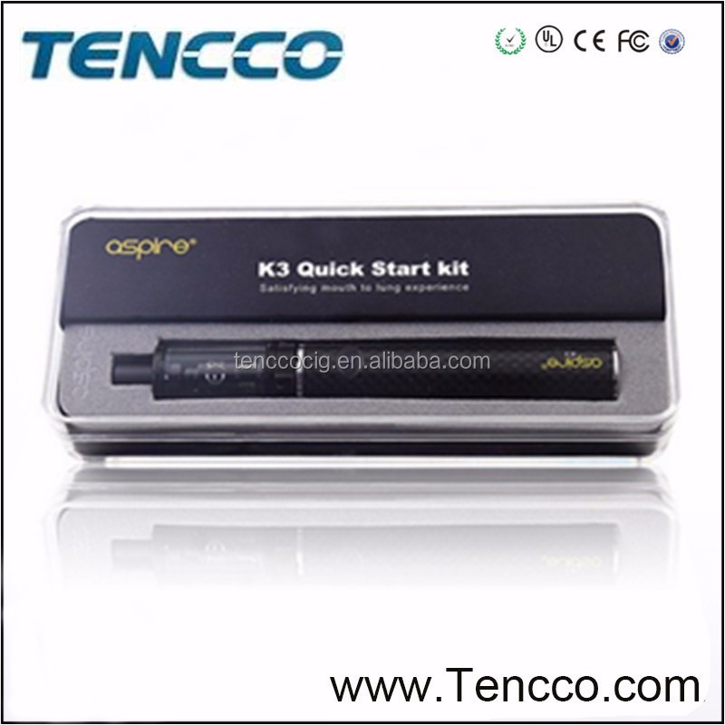 New products 2016 electronics aspire k2/ k3/ k4 start kit from Tencco