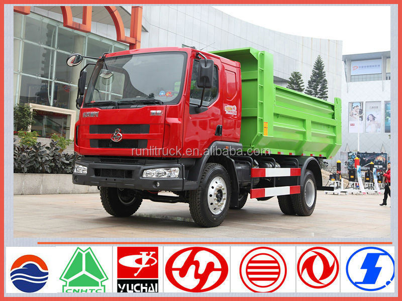 China famous brand dongfeng chenglong dump truck 4*2 5ton for sale in uae