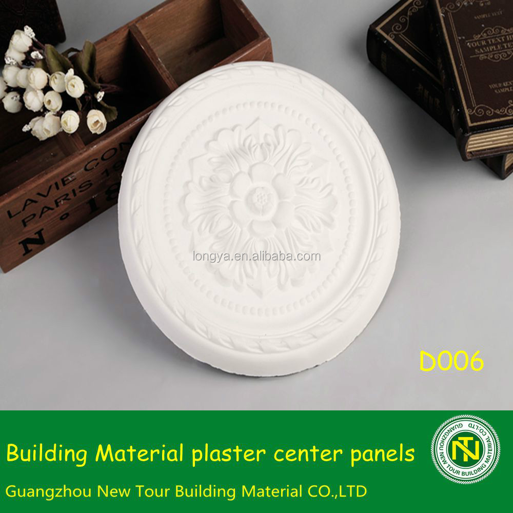 Building Material Fireproof Plaster Crntre Panel For Hotel