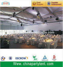 Veranda tent wedding halls tent with beautiful wedding decoration