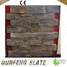 CE Passed Z Cladding Split Surface Antacid Rusty Natural Stone Slate Wall Brick