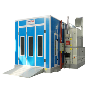 Longxiang CE auto water based spray booth