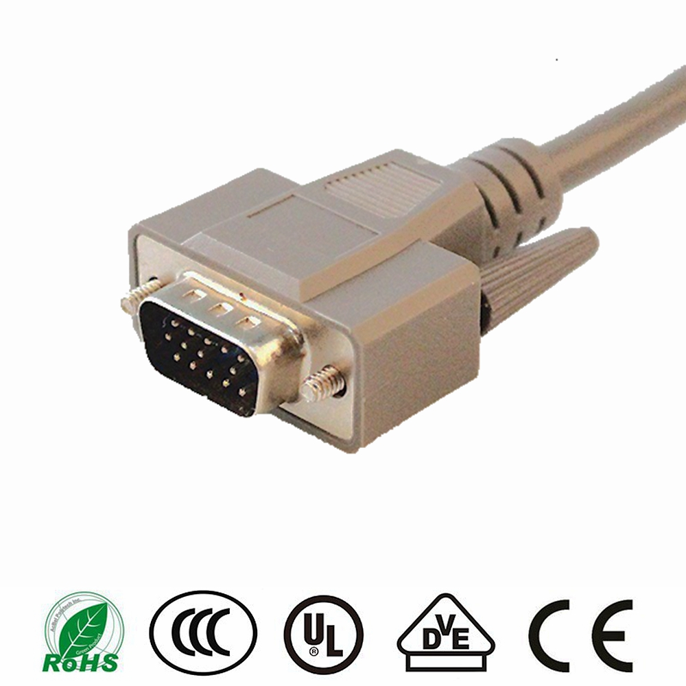 China wholesale 100 meters vga cable optional parallel to dvi vga adapter dvi cable