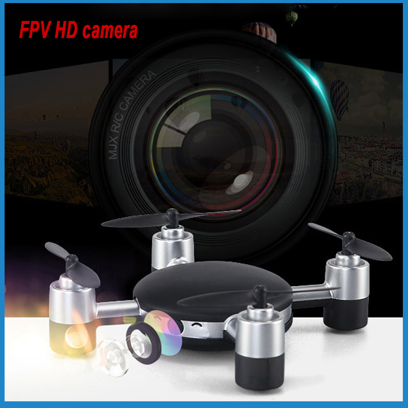 Wireless Nano Hover Thermal HD Mini Camera Drone with 5.8G FPV Realtime Transmission 4K MJX X906T