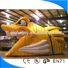 Innovative inflatable lovely animal lizard tent /new design cabrite tent