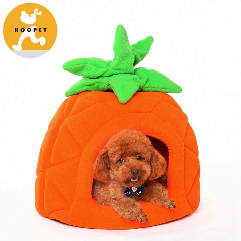 Cheap maroon strawberry bed dog