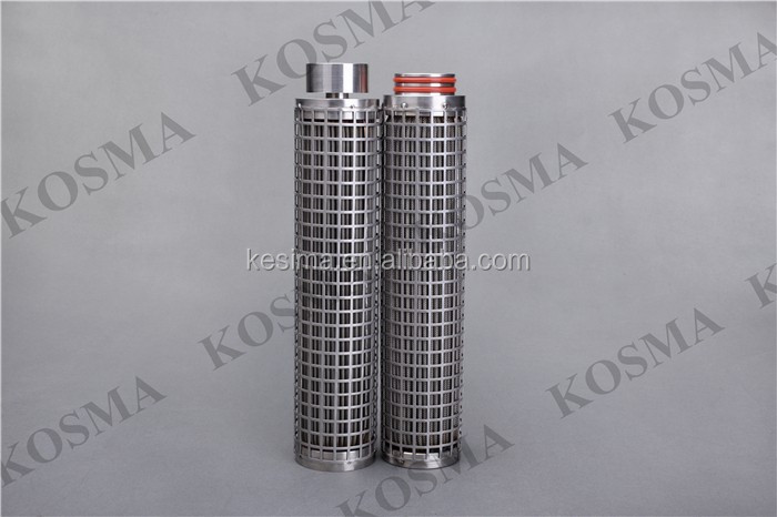 Kosma Directly Supplied Stainless Steel Sinter Plate Filter 1.0 um Hepa Filter 5 Inch