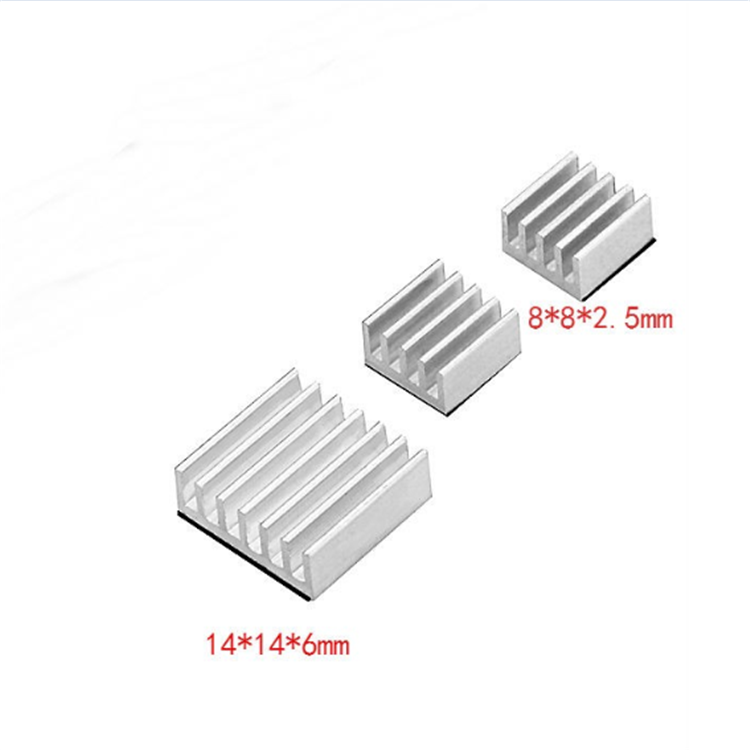 Wholesale <strong>Aluminum</strong> Chips VGA RAM CPU Cooling Heatsinks, High Quality <strong>Aluminum</strong> heatsink For Raspberry pi Model B Cooler heat sink