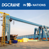 Factory Direct Sales 25T Used Good Gantry Crane Price With 4 Wheels