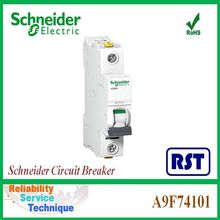 A9F74101 Acti9 iC60NC Schneider Merlin Gerin electrical mccb 1P 1Amp Circuit breaker