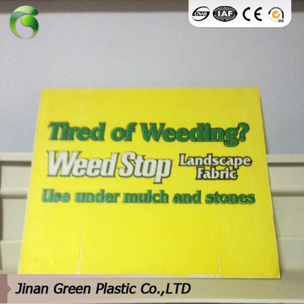 PP Plastic Sheets For Advertisement Placard