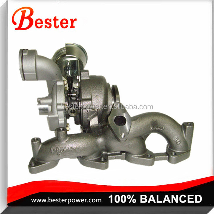 724930-0009 TURBO FOR Audi A3 Seat 2.0 TDI (8P/PA) BKD / AZV 140 HP