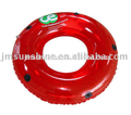 colorful inflatable pvc swim ring