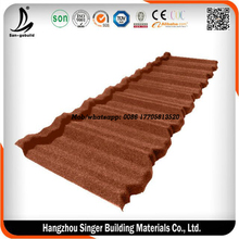 light weight steel corrugated aluminium roof tile/stone coated roof tile