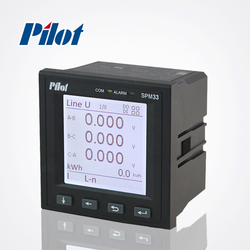 PILOT SPM33 LCD Dual Source kWh Records Power Meter