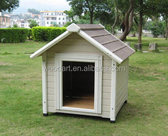 Indoor unique dog kennel with PVC door flap,cute dog kennel