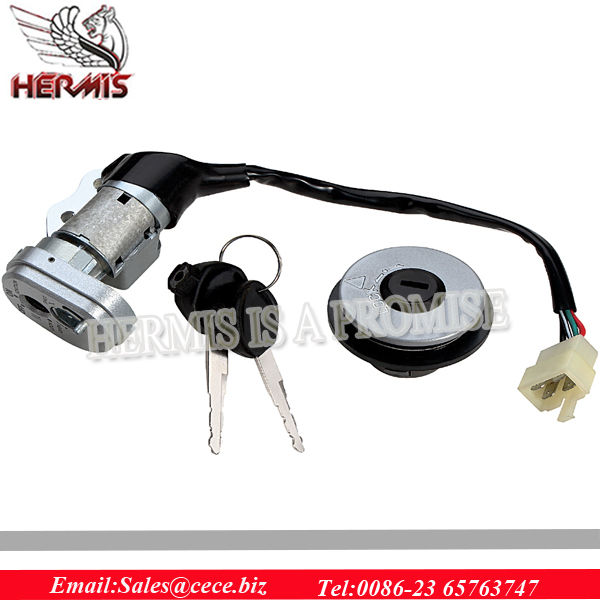 Chinese manufacture motorcycle lock set/ tank cap/ motorcycle ignition switch