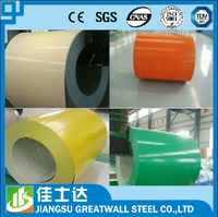 hot dipped zinc metal roofing color prepainted Galvanized base color coated steel coil/oil paint:PE,PVDF,HDP,SMP