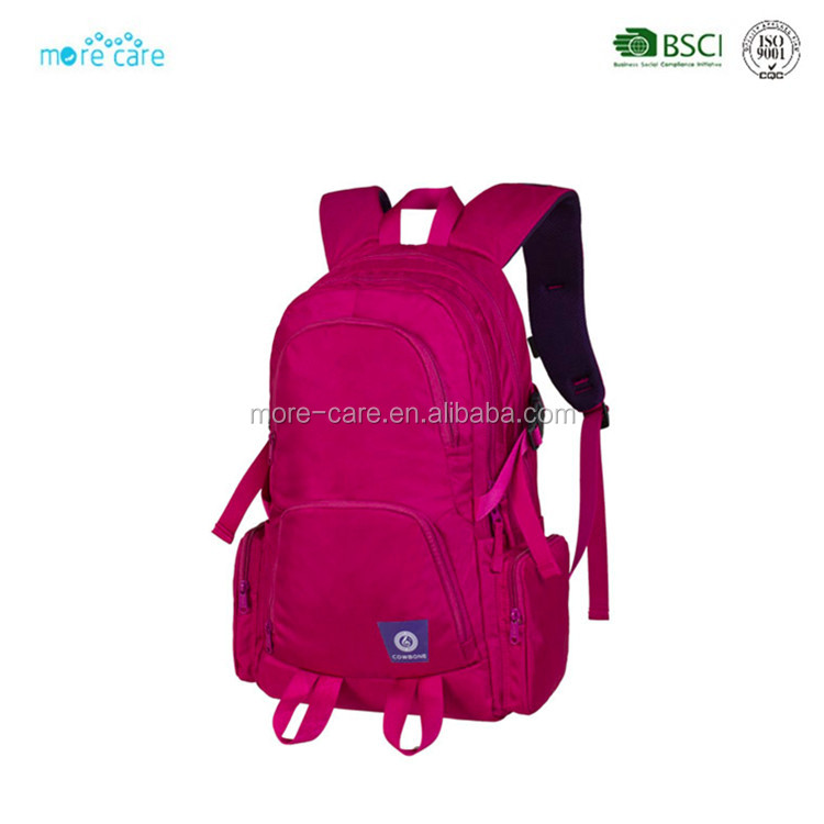 junior good quality laptop girl sport backpack