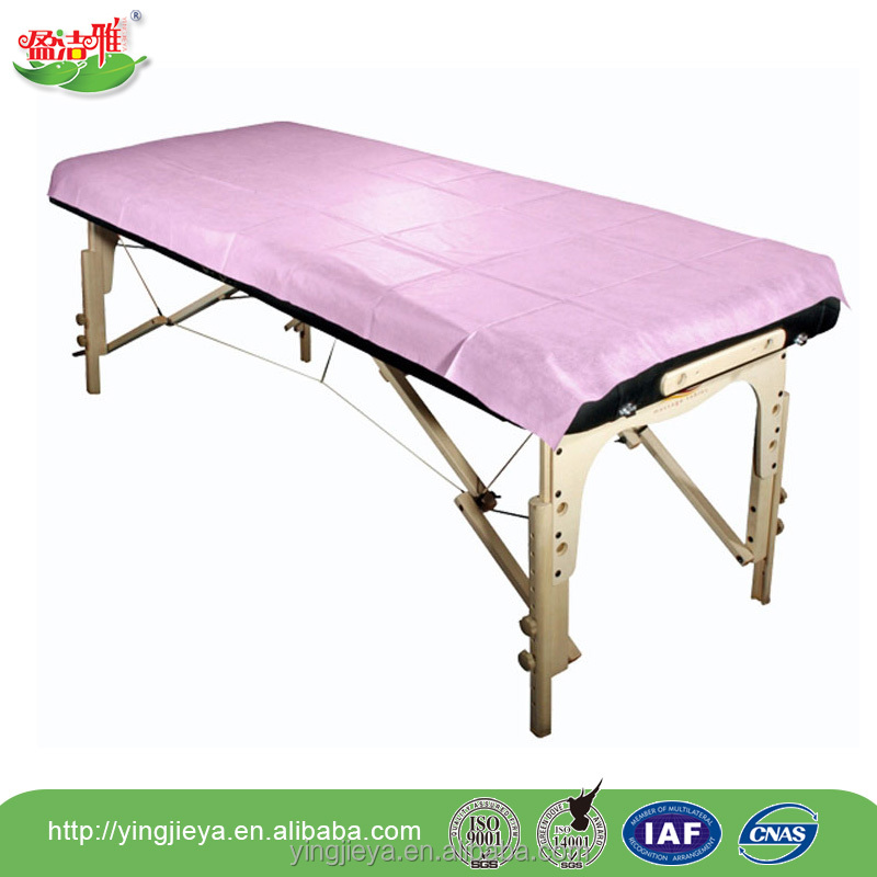 Factory price nonwoven fabric SMS disposable medical bed sheets