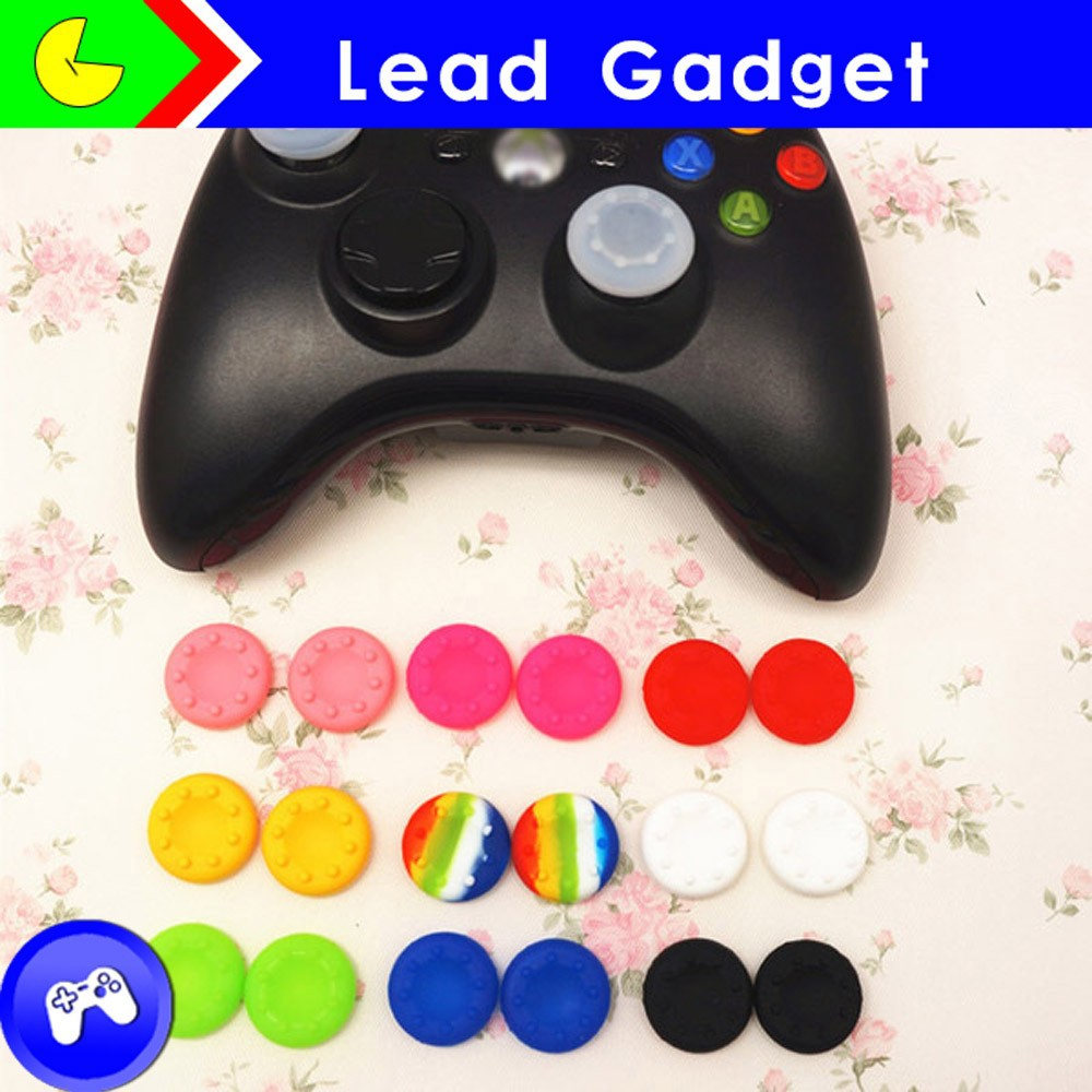Analog Thumb Stick Cap Grips for Xbox 360 Controller Joystick for PS3 Wii
