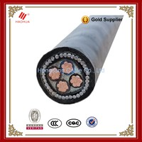 NO.3427- Low Voltage 4x35mm2 n2xy 0,6/kV Armoured Underground price electric XLPE 3+1 4 core 35mm2 copper cable