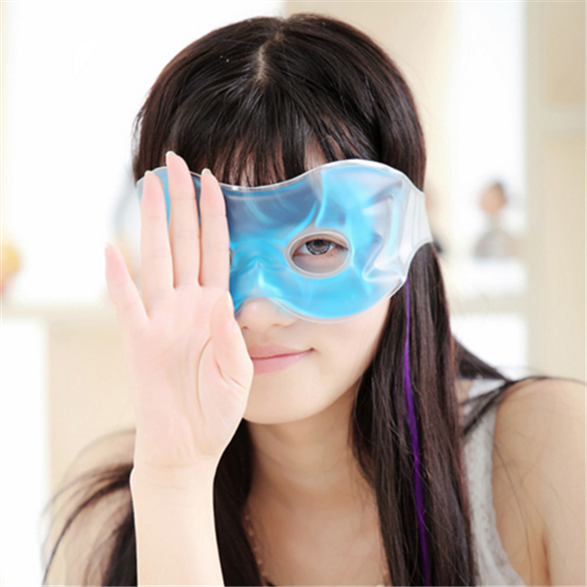 China factory hot or cooling gel eye pad for eyes relaxing
