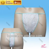 intimate apparel latex pants woman nonwoven underwear