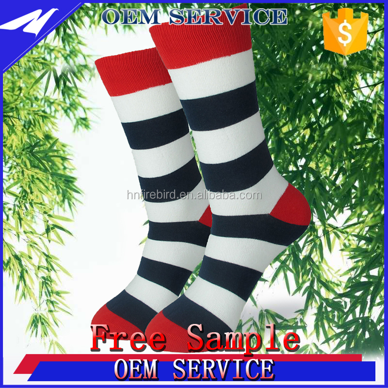 Happy sexy lady girl stripe dress sock for sale