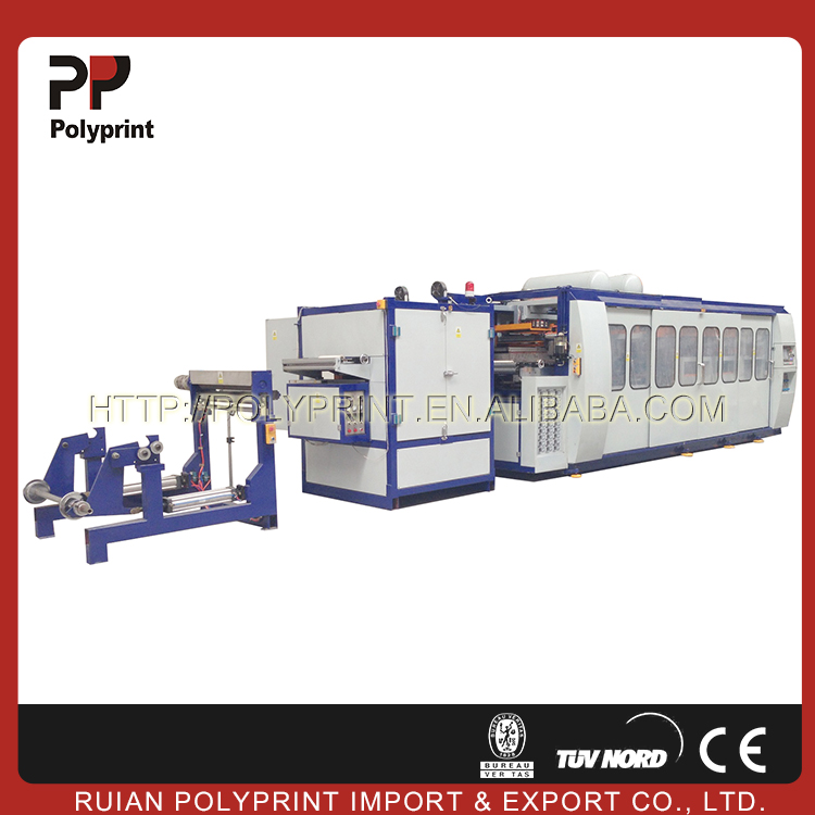 Little maintenance effort large vacuum thermoforming machine