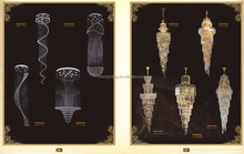 Hotel stairs lighting factory-outlet Luxury Big Modern Crystal Chandeliers