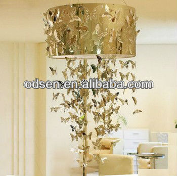 Modern butterfly crystal chandelier replacement parts