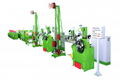 Tire bead wire winding grommeting extruder machine