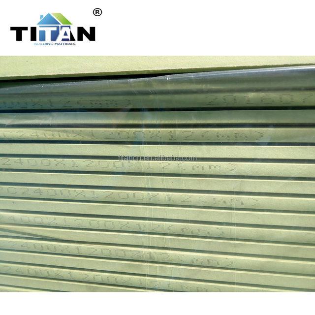 Dry Standard Size Paper Face Gypsum Ceiling Board