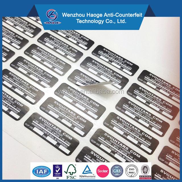Custom Warranty VOID Sticker,Company Label,Brand LOGO Tag Fragile sticker
