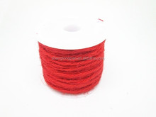 Colored fibre sisal binder twine for sisal wallcovering