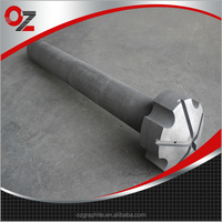 high strength Anti-oxidation Coating Graphite Rotor and Shaft for Degassing Aluminum