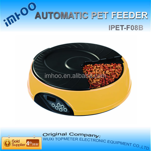 animal feeding trough 4 Meal LCD dog food Automatic Pet Feeder