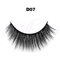 Hot sells strip eyelashes for makeup 3D silk faux mink lashes 0.07 with factory price