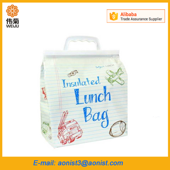 Custom cute design cool carry school insulated lunch cooler bag Promotion