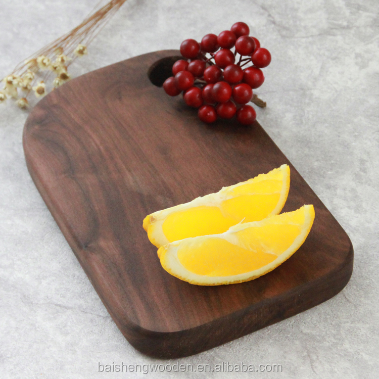 The higher quality black walnut chopping block cutting board for kitchen knives accessories