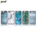 High quality Custom Pattern Glass Mirror Back Cover Wholesale Cell Phone Case For iPhone 6/7 Mirror Case