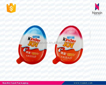PP egg shaped food grade chocolate packaging box