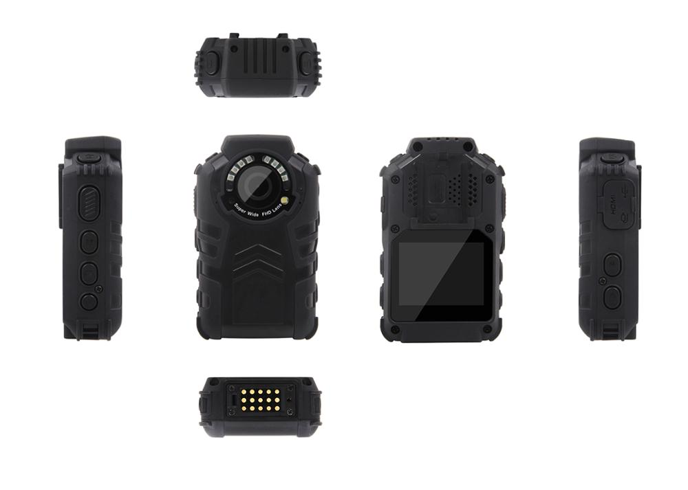 Wholesale 2.0inch IP67 Waterproof GPS Night Vision Body Worn Police Camera Recorder Body Cameras For Law Enforcement