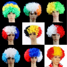 Christmas gifts in bulk Cheap 100% polyester fiber price bohemian curl wig