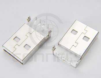 2mm 4 pin right angle type male usb connector