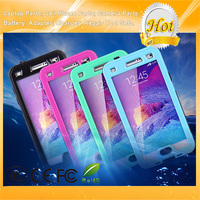 New Shockproof Waterproof Mobile Phone Case for Galaxy Note 4 With Button