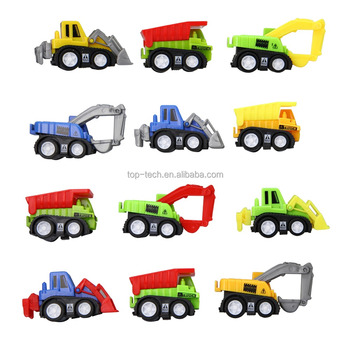 2018 new wholesale kids pull back car toys, 1:64 scale toy truck model toys