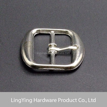 Very popular casual style silver finish women's shoe buckle manufacturer