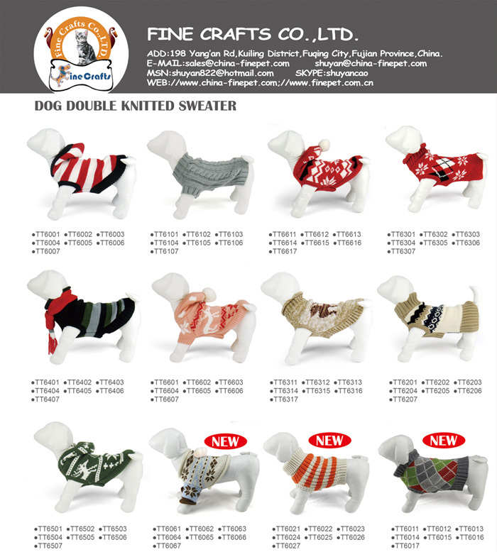 2015 New desing wholesale pet supply / pet apparel from china